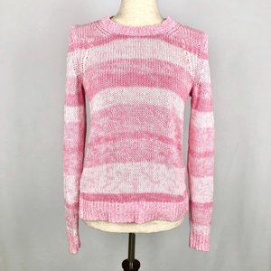 Lilly Pulitzer Pink Knit Pullover Sweater Size M